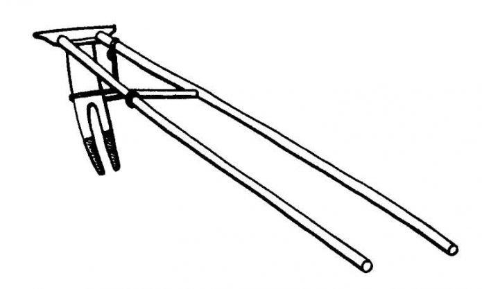 Типовая схема древнерусской сохи