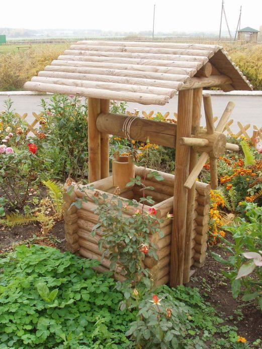 Колодец на садовом участке