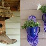 Чашки и обувь