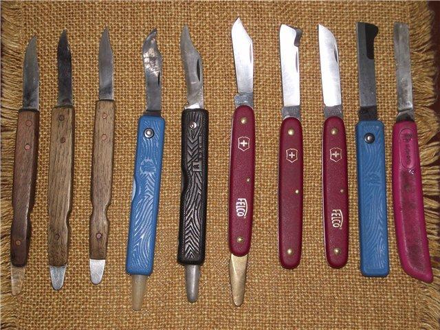 Окулировочные ножи