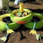 Царевна-лягушка из трёх шин