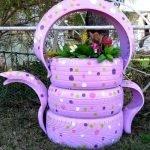 Розовый чайник