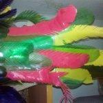 Перья для попугая