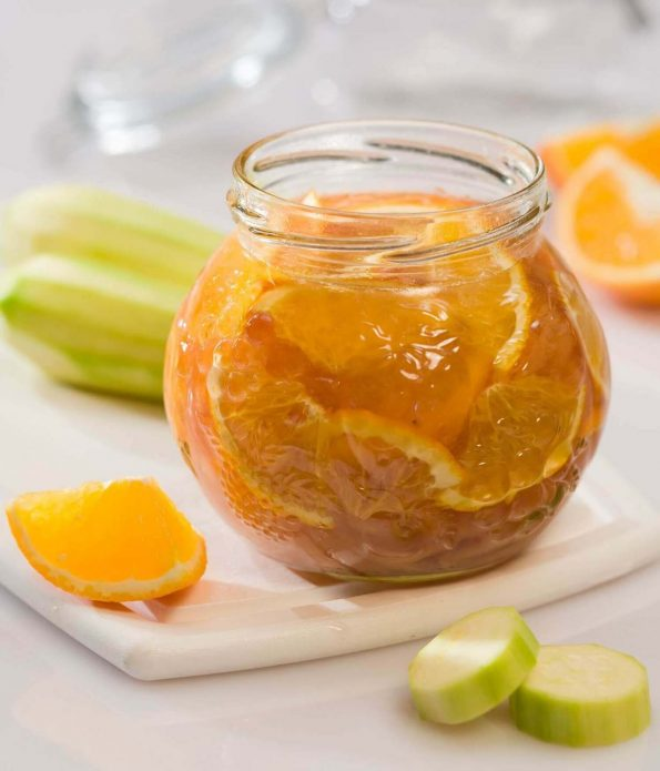 Варенье из кабачка с лимоном и апельсином
