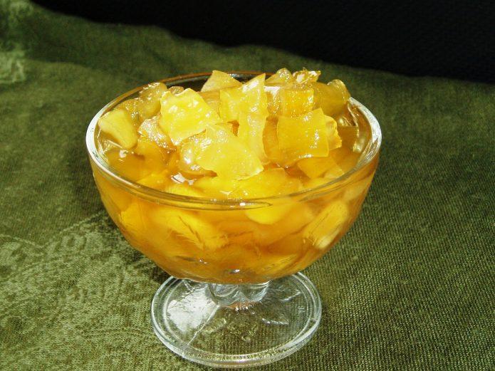 Варенье из кабачков и ананасов