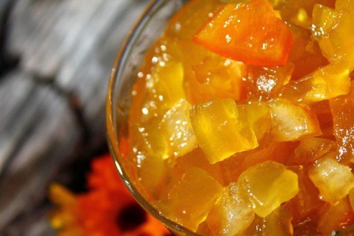 Варенье из кабачка и цитрусов