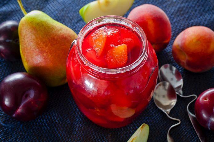 Джем из фруктов