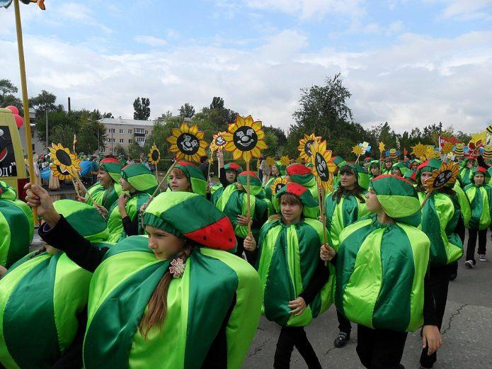 Арбузный парад в Камышине