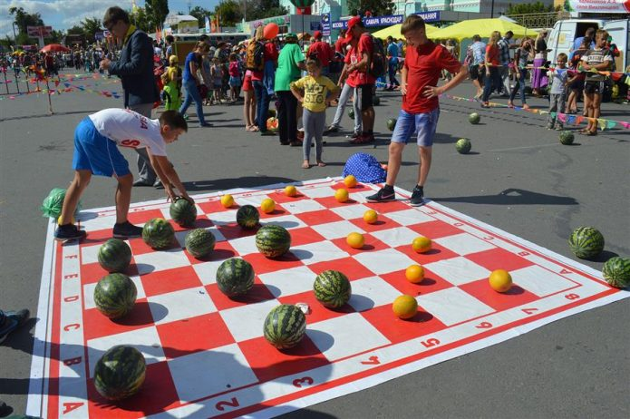 «Арбузные» шашки