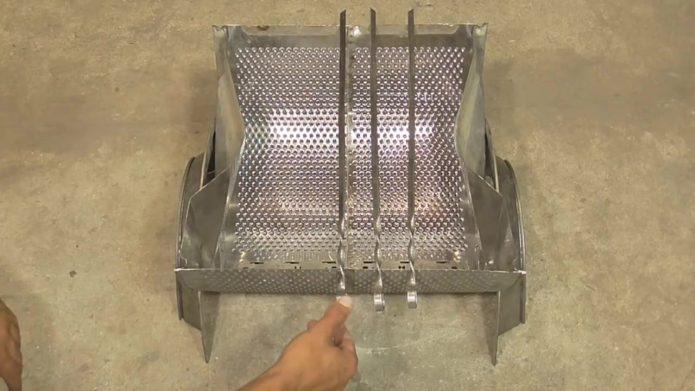 изготовление мангала из барабана стиральной машины 3