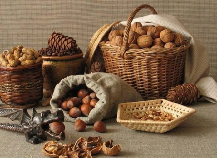 Сбор орехов