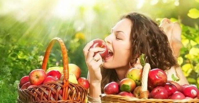Вкус яблок
