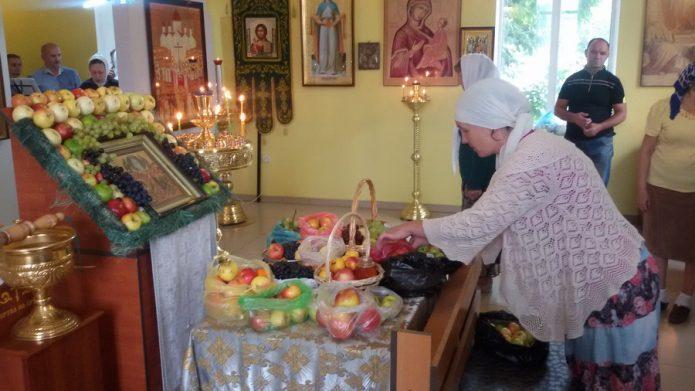 Запах яблок в храме