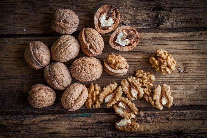 Скорлупа орехов