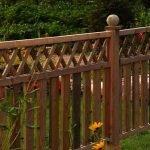 Узорчатый забор