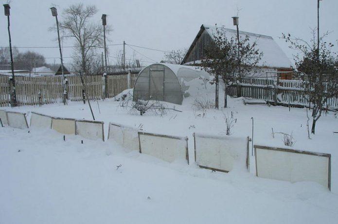 Щит-снегозадержатель