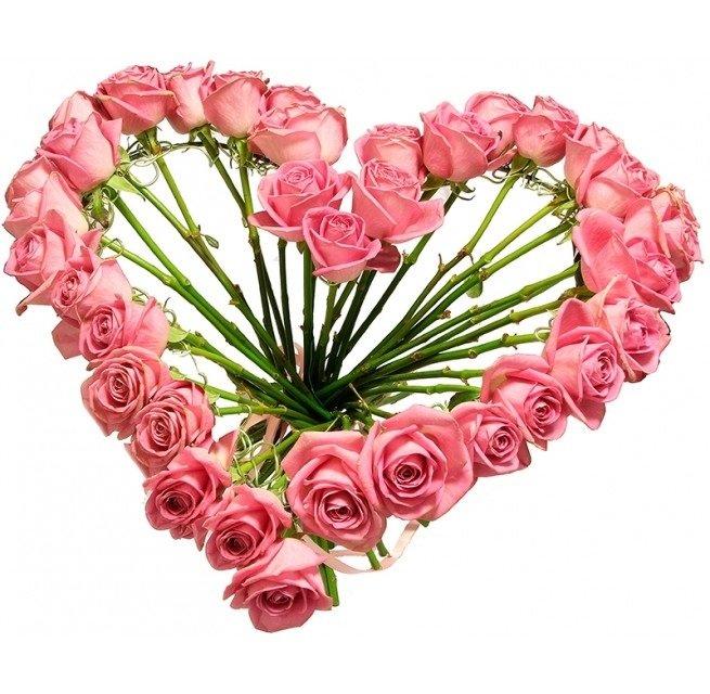 Каркасный букет из роз