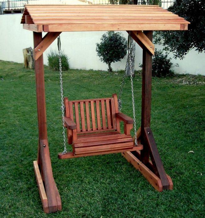 садовые качели-кресло