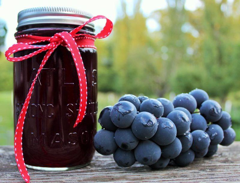 Сок из винограда на зиму без соковыжималки