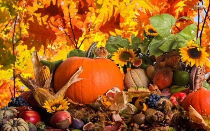 Урожай осенью