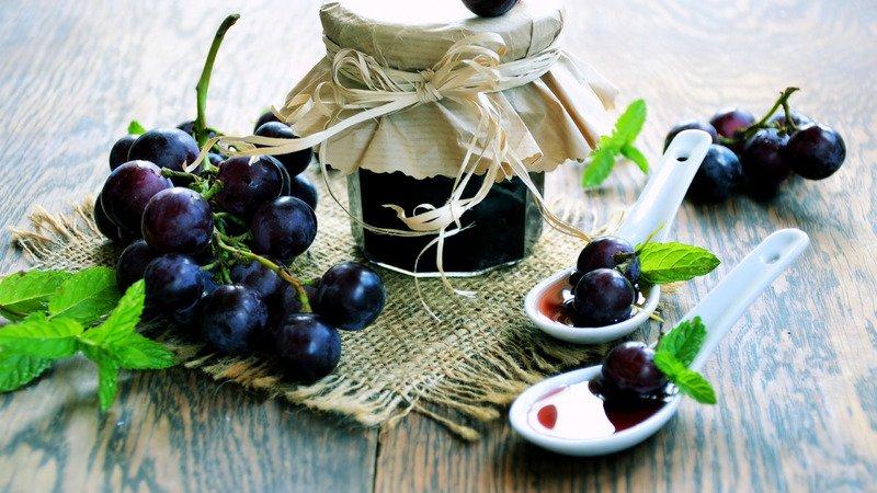 Как приготовить варенье из винограда на зиму