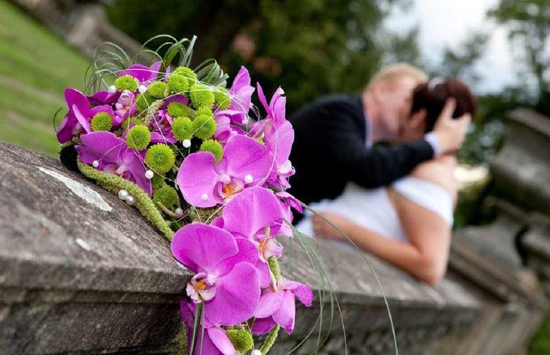Прекрасные орхидеи придадут свадебному торжеству экзотическую ноту