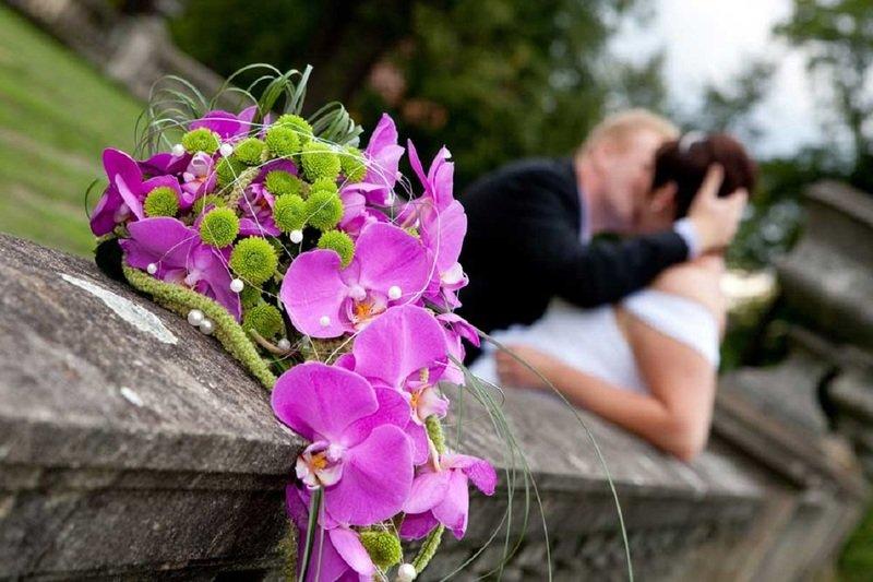 Свадебный букет из орхидей - идеи и мастер