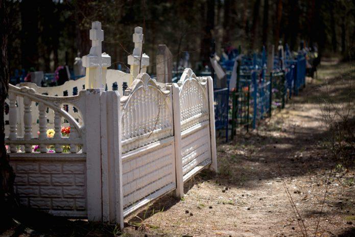 Посещение кладбища в Покров и после него