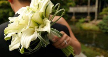 Букет невесты из калл