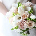 Букет невесты из калл с розами