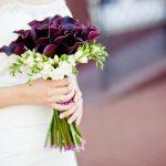 Букет невесты из калл с фрезиями