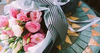 Корейская упаковка букетов: мастер-класс и фото пошагово