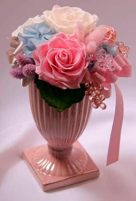 Стабилизированный букет цветов