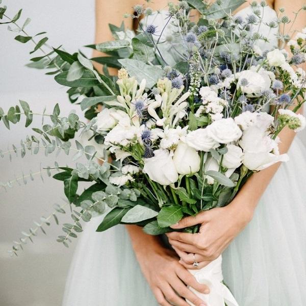 Букет невесты из живых цветов